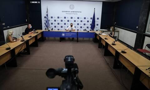 LIVE η ενημέρωση του υπουργείου Υγείας για την εμβολιαστική κάλυψη στην Ελλάδα