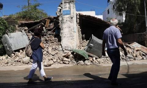 Σεισμός στην Κρήτη: Ξεπέρασαν τις τρεις χιλιάδες τα μη κατοικήσιμα σπίτια