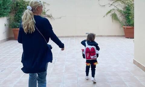 Δούκισσα Νομικού: Η τρυφερή κίνηση του γιου της που συγκίνησε την παρουσιάστρια