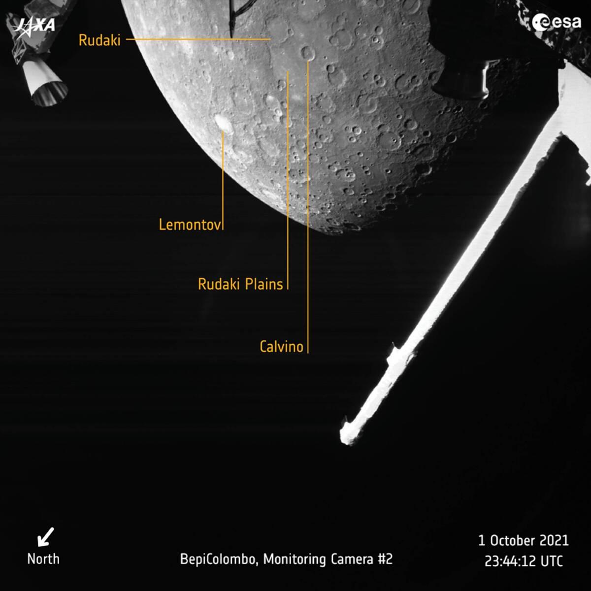 Hello Mercury annotated pillars