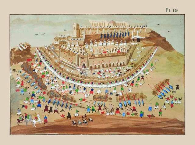 Πολιορκία Αθηνών 1827 Μαρκυγιάννης Παναγιώτης Ζωγράφος