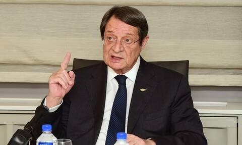 Αναστασιάδης: «Σε επικίνδυνη στασιμότητα το Κυπριακό»