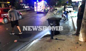Τροχαίο στη Θηβών: Αυτόπτης μάρτυρας στο Newsbomb.gr - «Από την ταχύτητα νόμιζα ότι ήταν αυτοκίνητο»