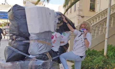 «Χανιώτισσες Μαμάδες»: Έστειλαν μεγάλη βοήθεια προς τους σεισμόπληκτους