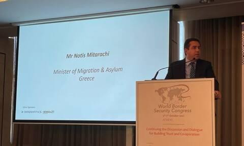 Μηταράκης: Πρέπει να αποτραπούν παράνομες ροές μεταναστών που προσπαθούν να παραβιάσουν τα σύνορα