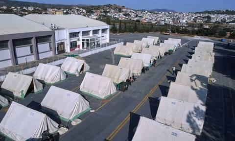 Σεισμός στην Κρήτη: Εκατοντάδες παραμένουν σε σκηνές - Ανάμεσά τους 45 παιδιά