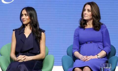 Η Kate Middleton «κρέμασε» τη Meghan Markle - Το άγνωστο σκηνικό πριν τον γάμο