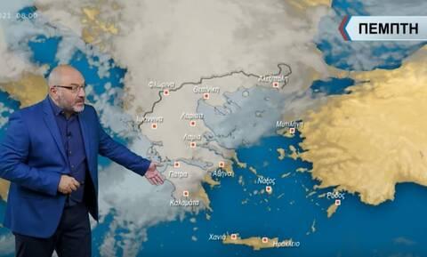 Προειδοποίηση Αρναούτογλου: Έρχονται επικίνδυνες καταιγίδες διαρκείας - Πότε θα επηρεαστεί η Αττική