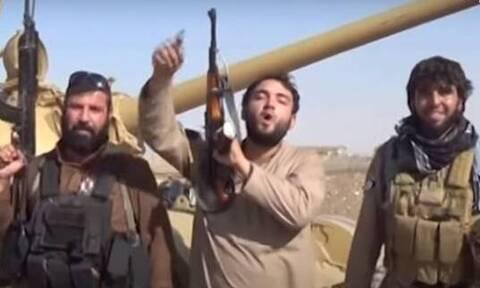Βίντεο – ντοκουμέντο: Ο τζιχαντιστής της Αθήνας εν δράσει με τρομοκράτες του ISIS