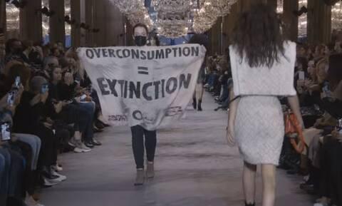 Eπίδειξη μόδας του οίκου Louis Vuitton