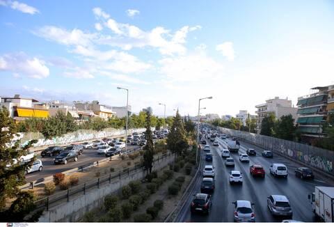 Κίνηση ΤΩΡΑ: Μποτιλιάρισμα στον Κηφισό - Ποιους δρόμους να αποφύγετε το πρωί της Τετάρτης