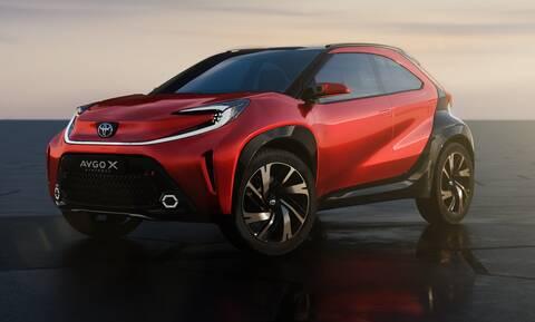 Πρεμιέρα για το νέο Toyota Aygo X το Νοέμβριο