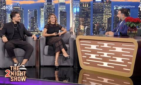 Η «πρόταση γάμου» του Σάκη Κατσούλη στη Μαριαλένα Ρουμελιώτη στο «The 2night Show» (video)