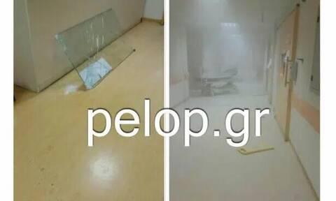 Πάτρα: Ασθενής τα έσπασε όλα στο Νοσοκομείο «Άγιος Ανδρέας»