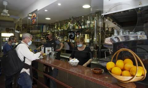 Kαφέ μπαρ στη Ρώμη