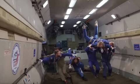 Έγιναν τα γυρίσματα της πρώτης ταινίας στο διάστημα (vid)