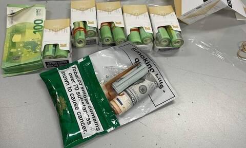 ΑΑΔΕ: Ο Μπαρτ εντόπισε 30.000 ευρώ κρυμμένα σε πακέτα τσιγάρων
