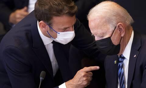 Γαλλία - ΗΠΑ: Η διαμάχη με την Ουάσινγκτον για τα υποβρύχια δεν έχει επιλυθεί ακόμη, λέει το Παρίσι