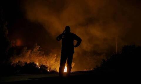 Σε ύφεση οι φωτιές στις περιοχές Αστεραίικα και Αρετή της Ηλείας
