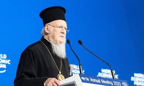 Βαρθολομαίος: Όχι στους θρησκευτικούς φονταμενταλισμούς και στους απόλυτους εθνικισμούς