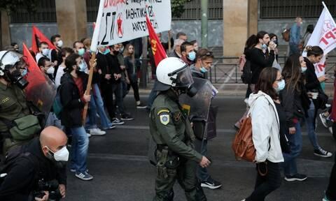 Πανεκπαιδευτικό συλλαλητήριο: Τι αναφέρει η ΕΛ.ΑΣ για τα επεισόδια