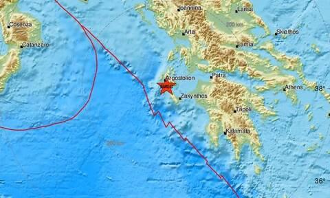 Σεισμός ΤΩΡΑ κοντά στην Κεφαλονιά (pics)