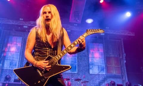Συγκλονιστικό βίντεο: Ο κιθαρίστας των Judas Priest έπαθε ρήξη ανευρύσματος αορτής στη σκηνή