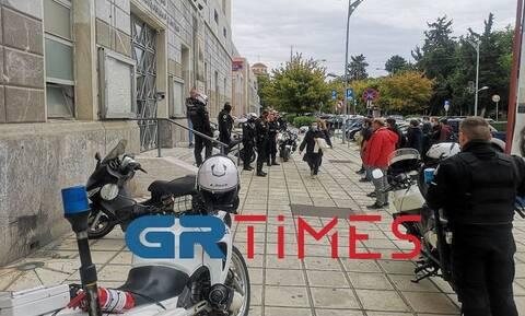 Θεσσαλονίκη: Παρέμβαση φοιτητών και εργατικών σωματείων στο κτήριο της TV100