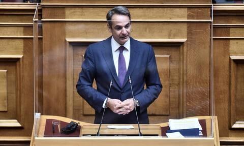 LIVE: Μητσοτάκης για συμφωνία Ελλάδας-Γαλλίας: Η χώρα μας μπορεί να έχει και ψωμί και κανόνια