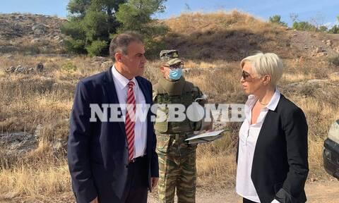 Ρεπορτάζ Newsbomb.gr: Αυτοψία της Σοφίας Νικολάου στη Χαλκίδα και τον χώρο ανέγερσης νέων φυλακών