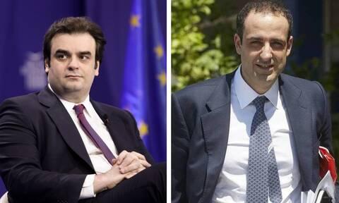 Πιερρακάκης - Δημητριάδης τρέχουν ψηφιακά πρότζεκτ για τα υπουργεία