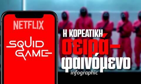 Squid Game: 10 fun facts για τη σειρά που σαρώνει στο Netflix - Δείτε το Infographic του Newsbomb.gr