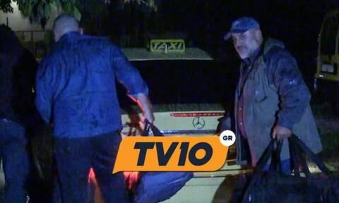 Στο πατρικό του σπίτι στα Τρίκαλα έφτασε ο Νίκος Παλαιοκώστας μετά την αποφυλάκισή του (vid)