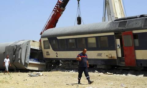 Σύγκρουση τρένων