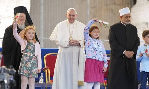 Οικουμενικός Πατριάρχης Βαρθολομαίος - Πάπας Φραγκίσκος