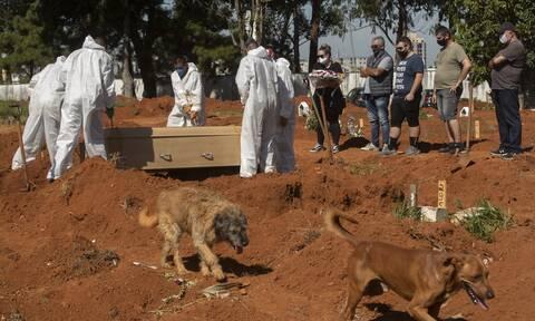 Κορονοϊός στη Βραζιλία: Σχεδόν 600.000 οι νεκροί από την πανδημία