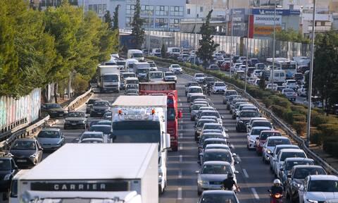 Μποτιλιάρισμα στους δρόμους της Αθήνας: Θα επιδεινωθεί το επόμενο διάστημα - Δείτε γιατί