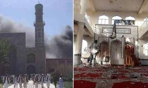 Αφγανιστάν - Επίθεση αυτοκτονίας σε τζαμί: «Βλέπουν» ISIS πίσω από το αιματοκύλισμα - Δεκάδες νεκροί