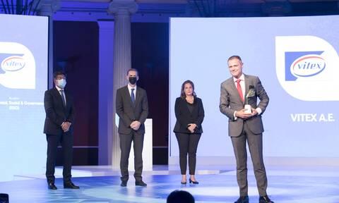 H Vitex A.E. μια από τις 6 νικήτριες των Growth Awards