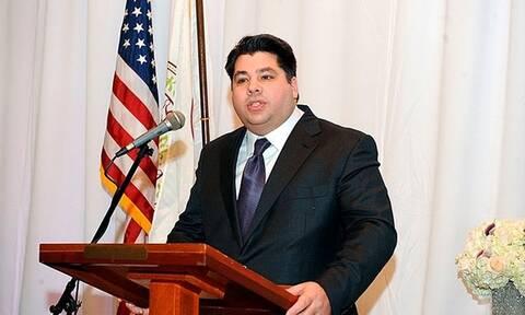 Τζορτζ Τσούνης πρέσβης Ελλάδα