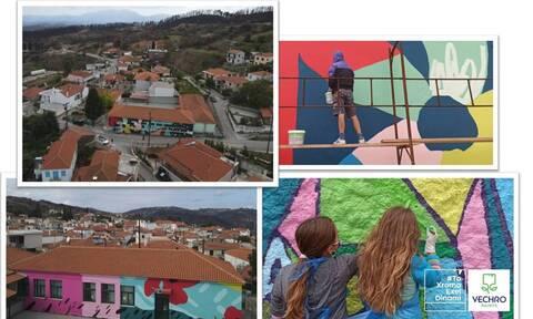 Η Vechro ζωγραφίζει σχολεία στις πυρόπληκτες περιοχές !