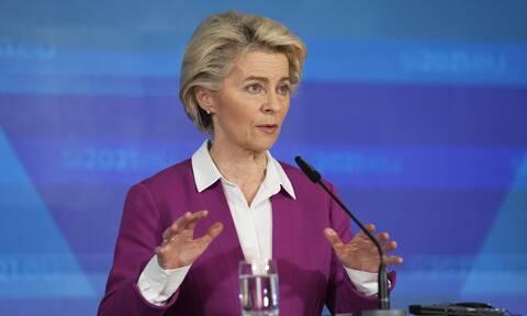 Η Φον ντερ Λάιεν χαιρετίζει τη σημερινή συμφωνία για την παγκόσμια φορολογική μεταρρύθμιση