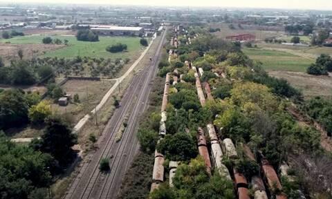 Ένα από τα μεγαλύτερα νεκροταφεία τρένων στον κόσμο βρίσκεται στην Ελλάδα
