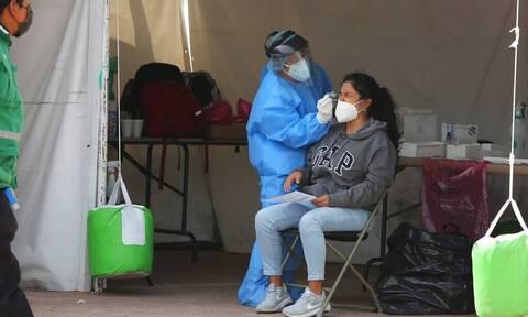 Κορονοϊός- Μεξικό: 348 νέοι θάνατοι και επιπλέον 6.153 κρούσματα το περασμένο 24ωρο