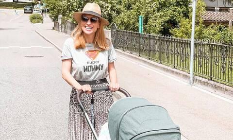 Μαρία Ηλιάκη: Ο περίεργος νυχοκόπτης που έχει για το μωρό της