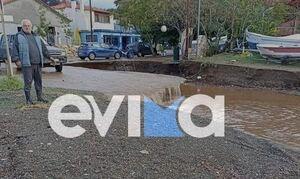 Κακοκαιρία «Αθηνά» - Εύβοια: Συγκλονίζει κάτοικός της περιοχής - «Θέλουμε βοήθεια»