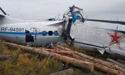 Ρωσία: Συντριβή αεροσκάφους με 16 νεκρούς - Επτά τραυματίες ανασύρθηκαν απο τα συντρίμμια