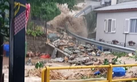 Κακοκαιρία «Αθηνά»: Μεγάλες καταστροφές στο Πήλιο - Κατολισθήσεις και πλημμύρες σε σπίτια