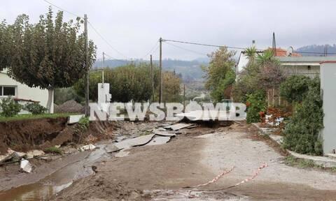 Αποστολή Newsbomb.gr στην Βόρεια Εύβοια: Όλα θάφτηκαν στις λάσπες - Θυμός και απόγνωση (photos)