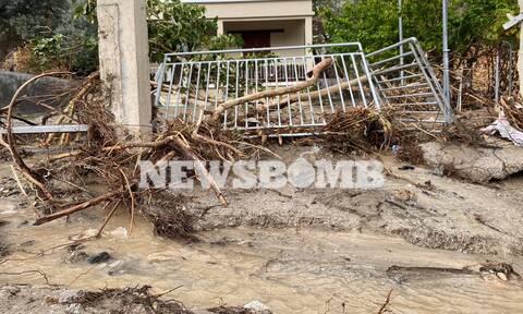 Το Newsbomb.gr στη μαρτυρική Εύβοια: Πριν πετάξουν από πάνω τους τις στάχτες, πνίγηκαν στις λάσπες
